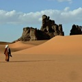 Djanet in the deep south of the Algerian Sahara desert
