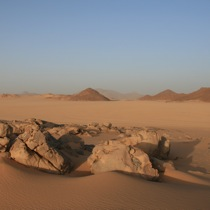 corporate trek in the Algerian Sahara